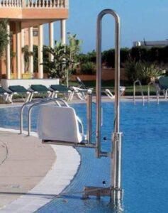 Salvaescaleras de piscina portatil